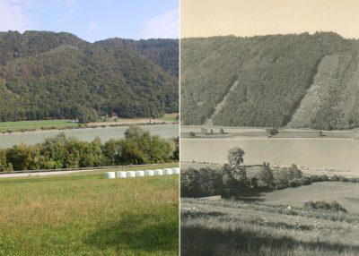 Landschaftswandel, Donautal, Passau, Donauleiten